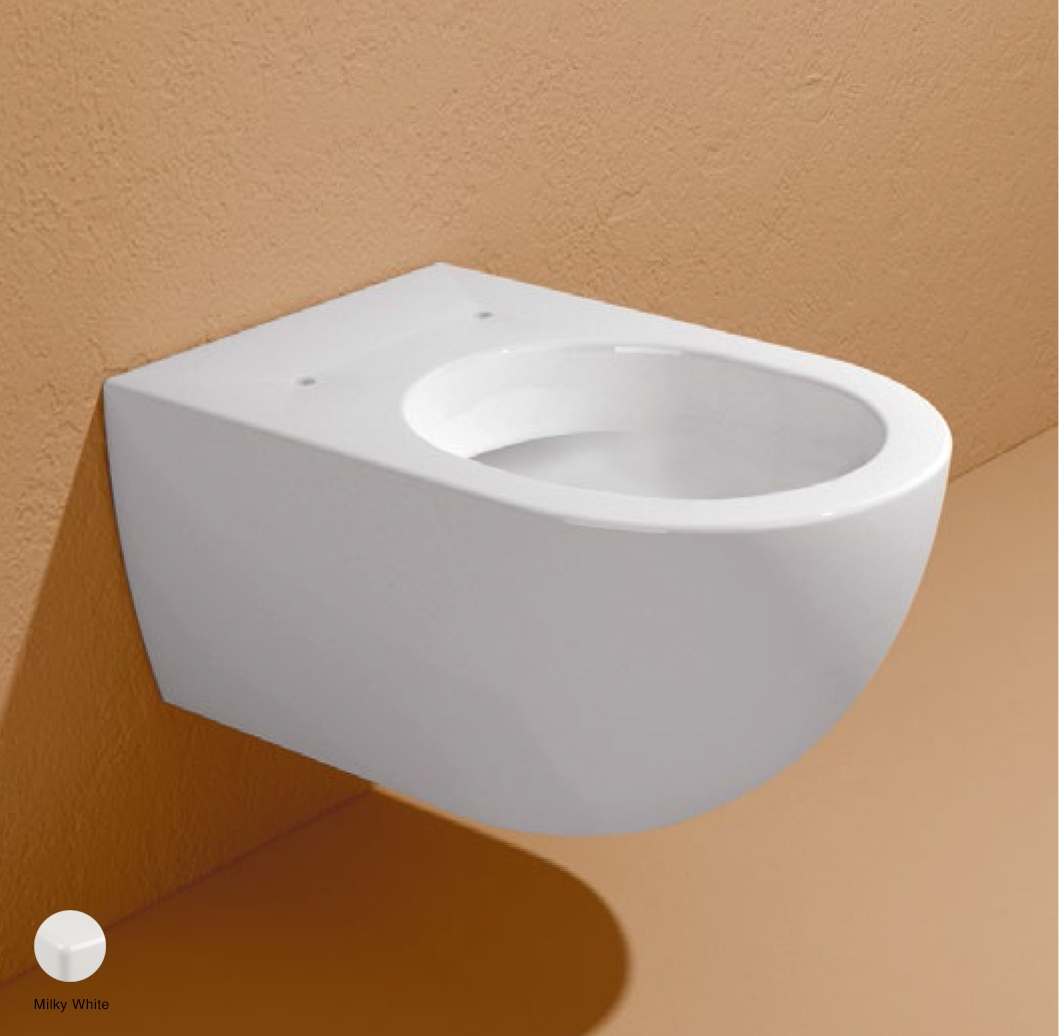 App Wall hung WC with goclean system Milky White
