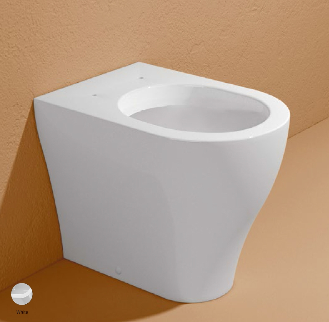 App Back to wall WC with goclean system S/P trap White