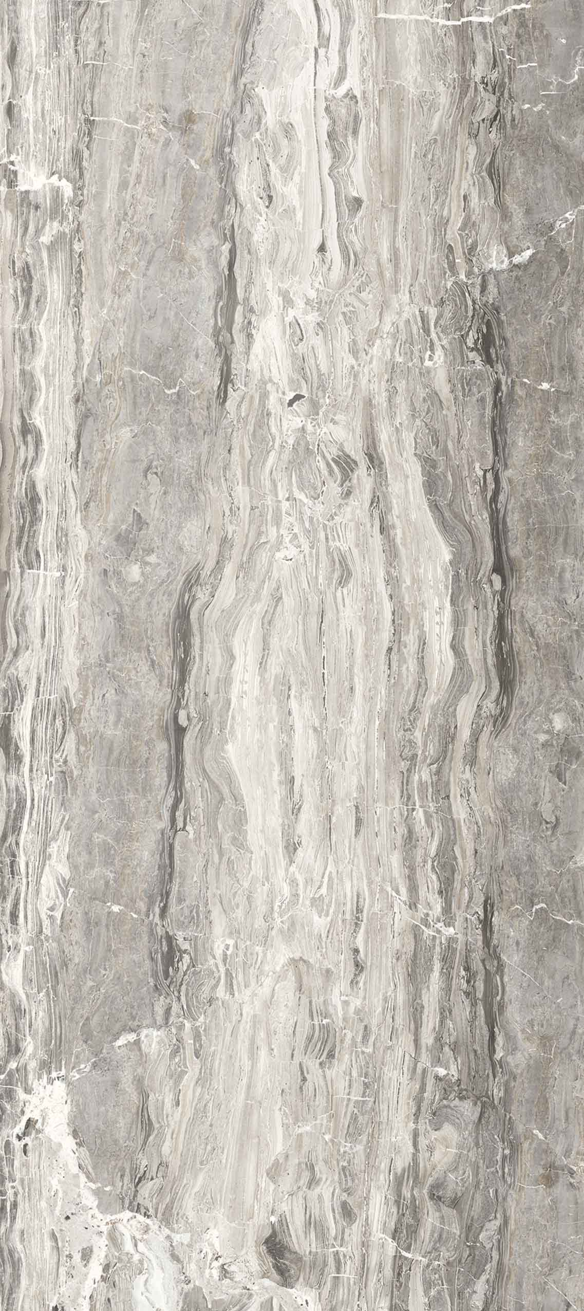 I Marmi di Rex Marble Grey Glossy 10mm 80 x 180