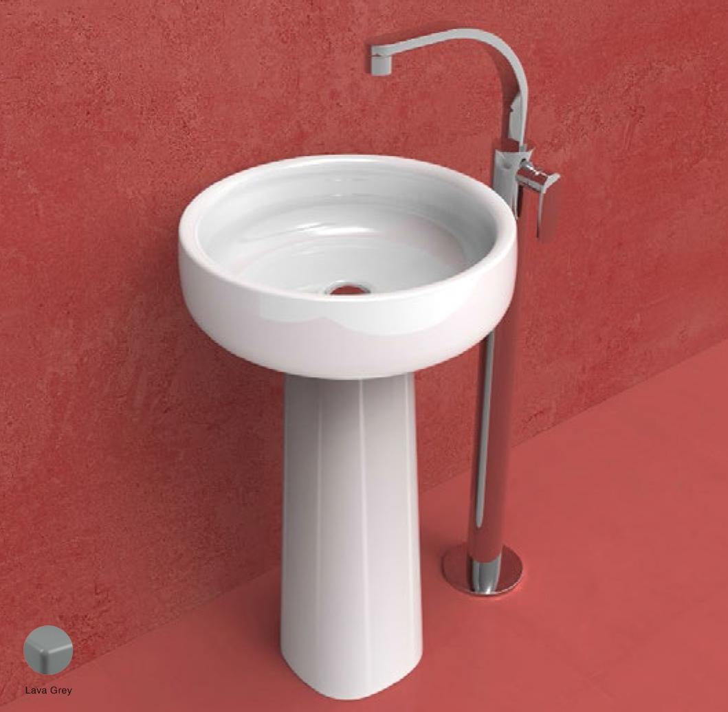 Bonola Pedestal suitable for Bonola 46/50 basins Lava Grey