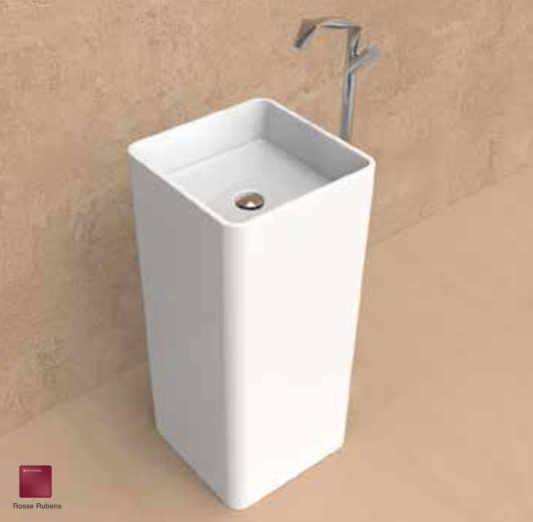 Monowash Standing column-basin 40 cm Rosso Rubens