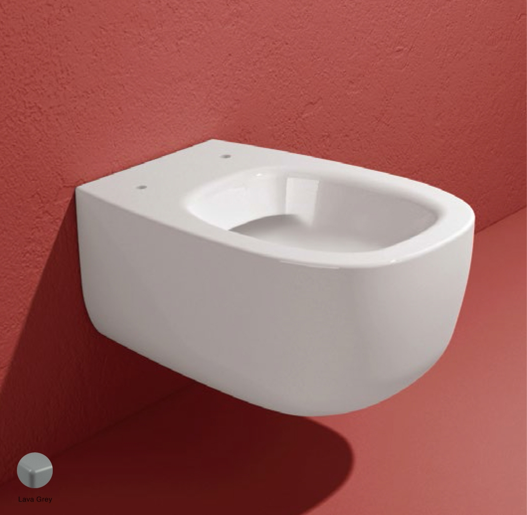 Bonola Wall hung WC with goclean system Lava Grey