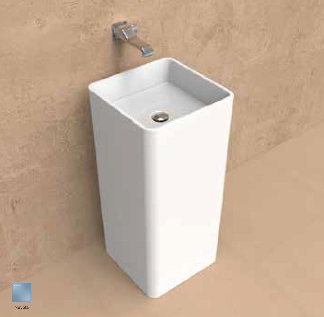 Monowash Wall column-basin 40 cm Nuvola