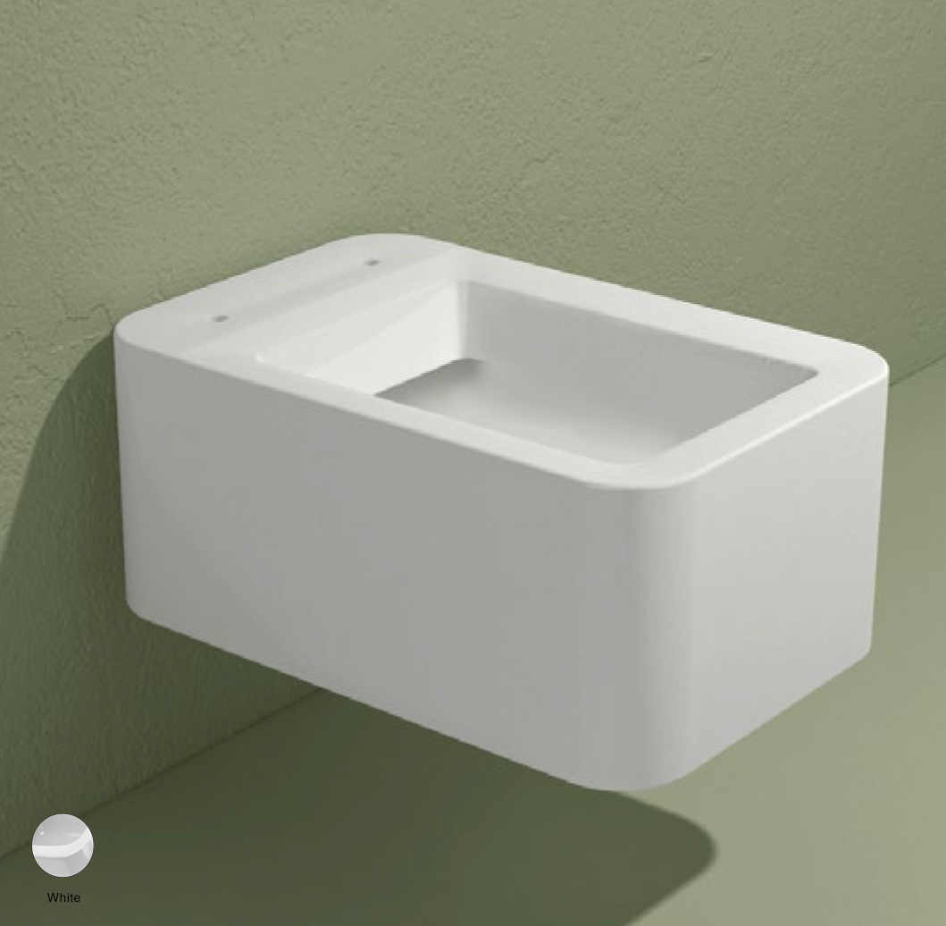 Nile Wall hung WC with goclean system White