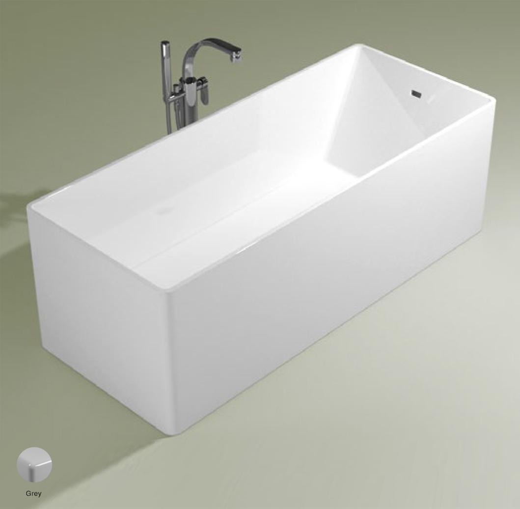 Wash Bath-tub 170 cm in Pietraluce Grey