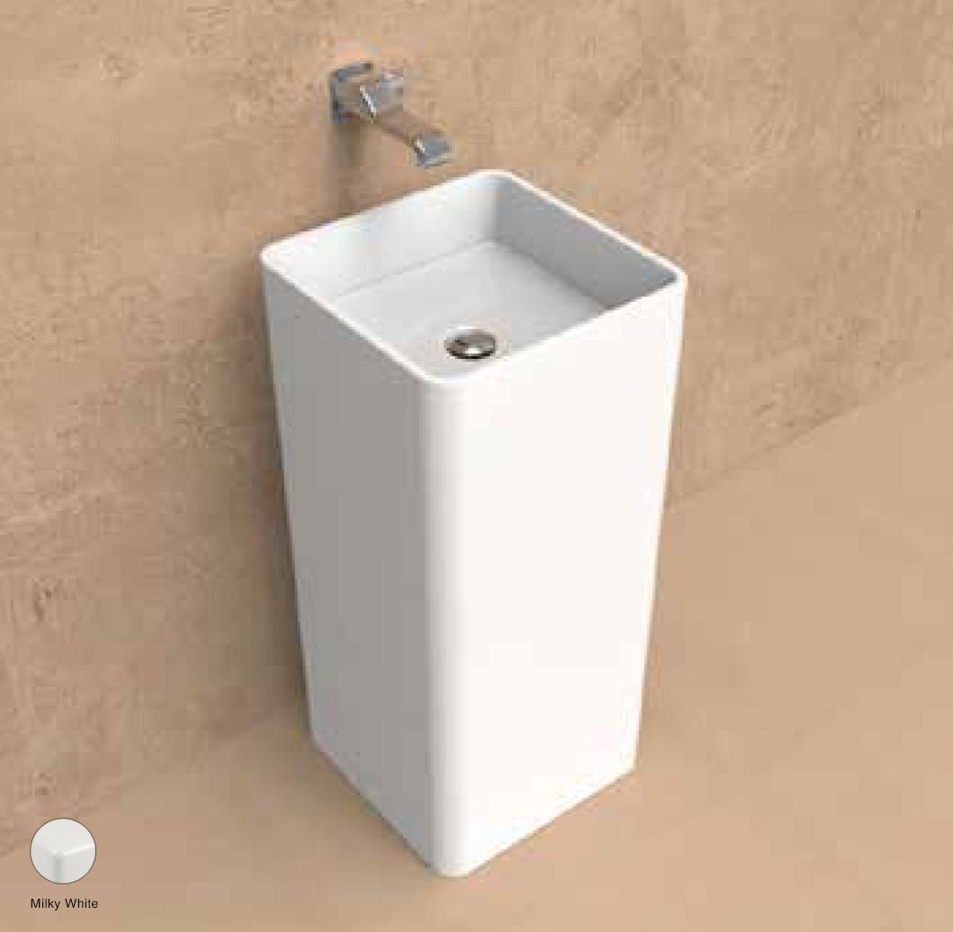 Monowash Wall column-basin 40 cm Milky White