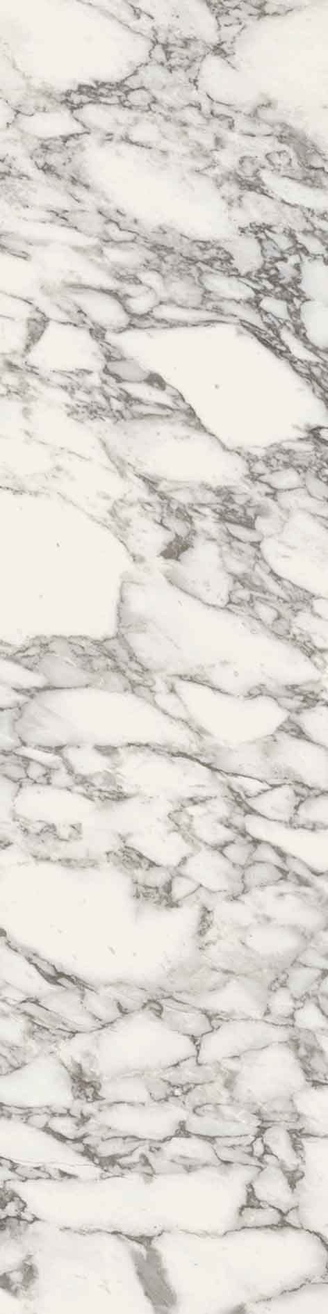 Stones and More Arabescato White Glossy 6mm 60 x 240