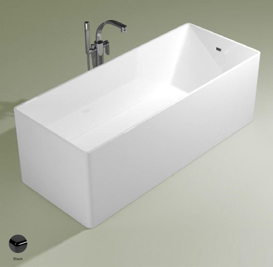 Wash Bath-tub 170 cm in Pietraluce Black