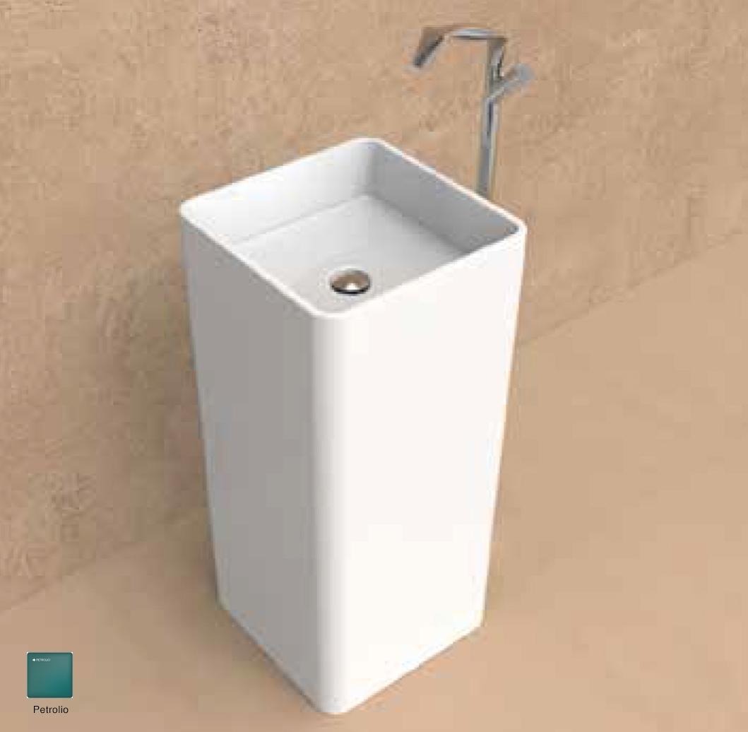 Monowash Standing column-basin 40 cm Petrolio