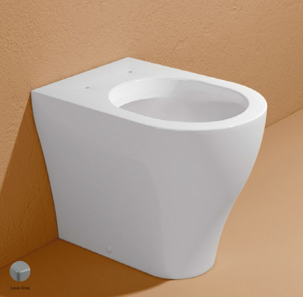 App Back to wall WC with goclean system S/P trap Lava Grey