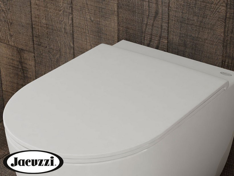 Glow Toilet seat with soft close White