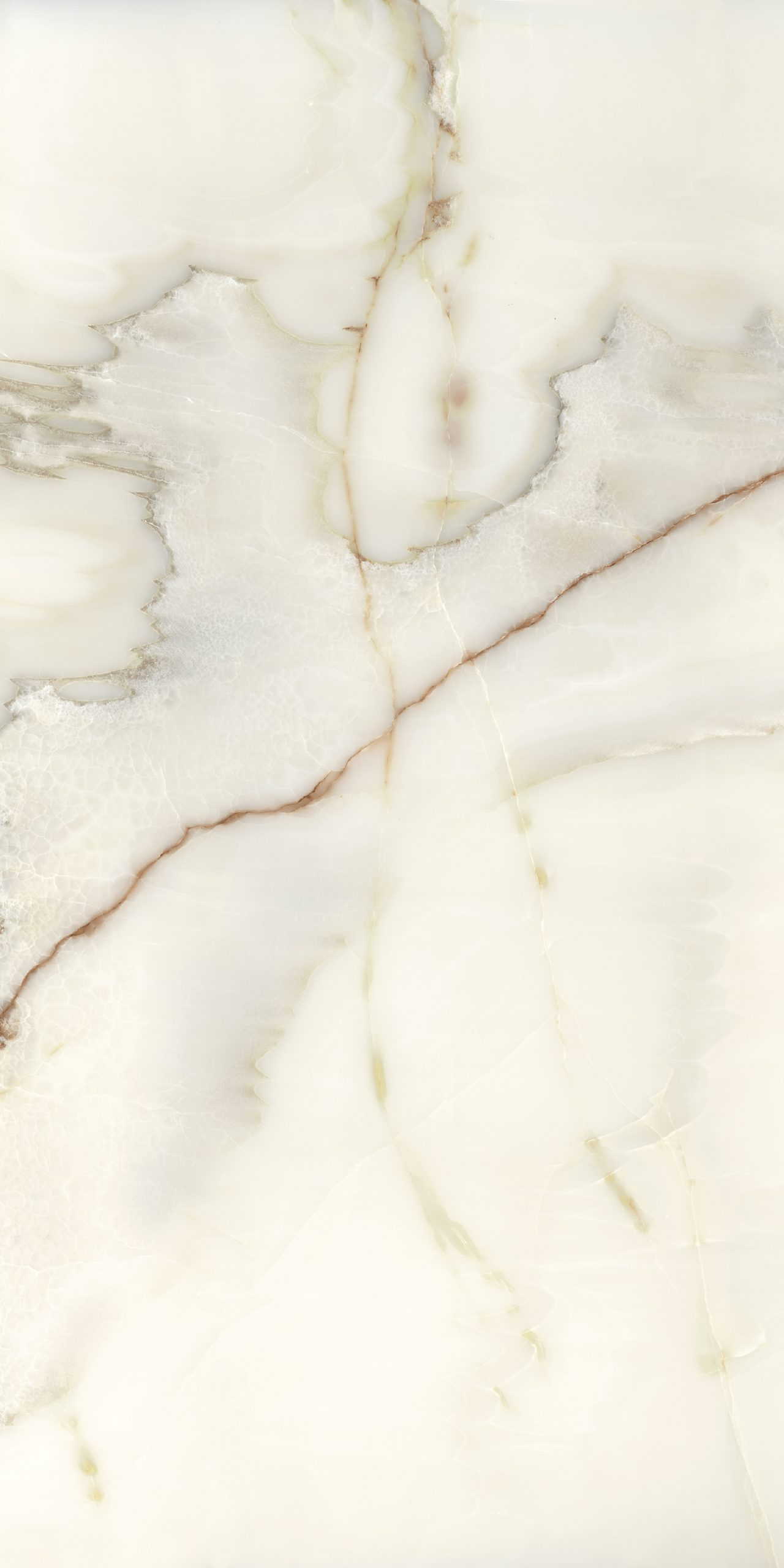 Les Bijoux de Rex Onyx Blanche Glossy 10mm 80 x 180