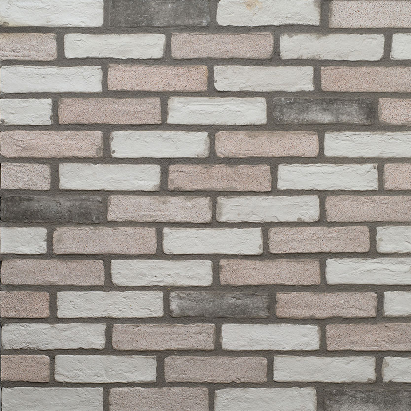 Masterbrick White Grained Flat 10mm