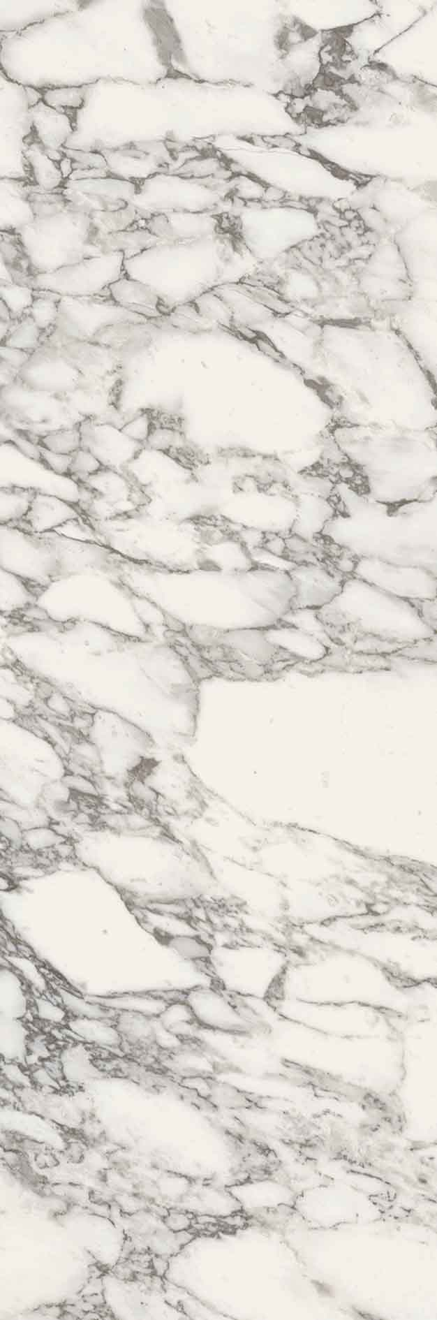 Stones and More Arabescato White Glossy 6mm 80 x 240