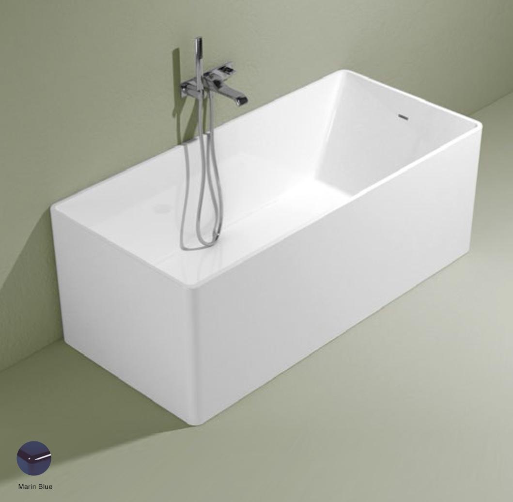 Wash Bath-tub 150 cm in Pietraluce Marine Blue