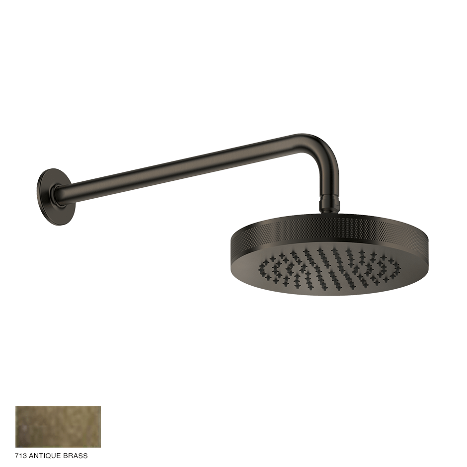 Inciso Wall-mounted Showerhead 713 Antique Brass