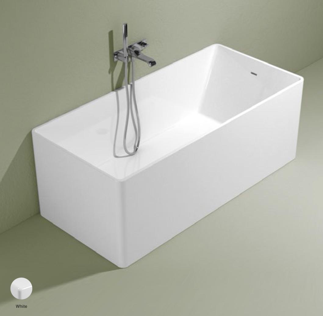 Wash Bath-tub 150 cm in Pietraluce White