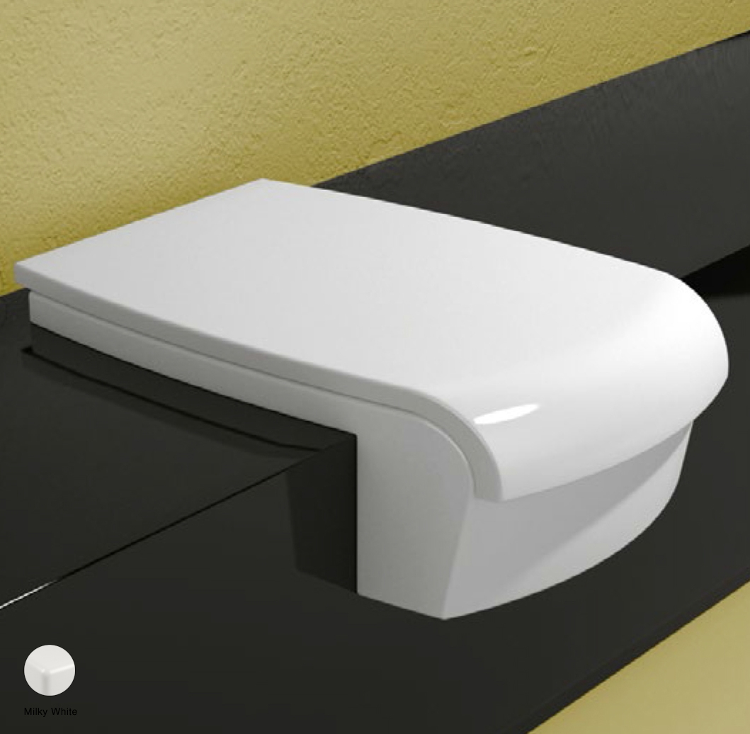 Una Thermosetting wrapping seat and cover Milky White