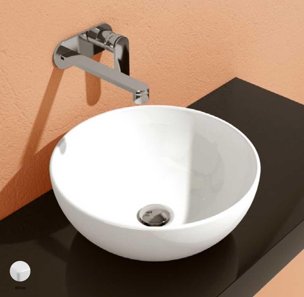 App Countertop Basin 40 cm White Glossy