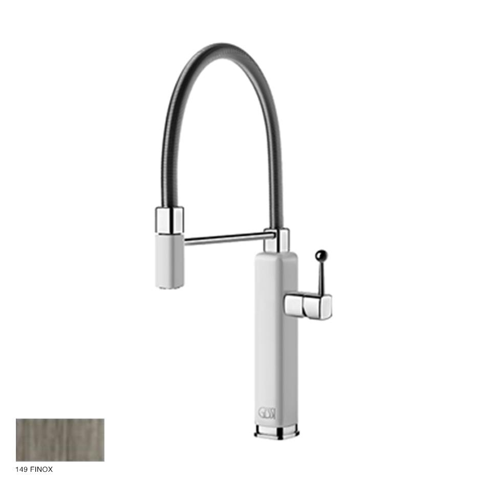 Happy rotating sink mixer with extractable jet handshower 149 Finox