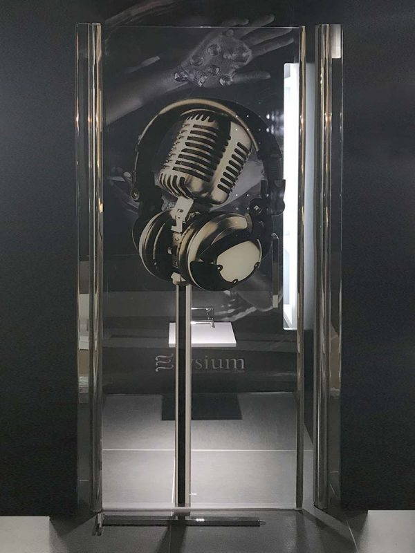 Giada 1B Chrome Fitt 78 x 195 cm