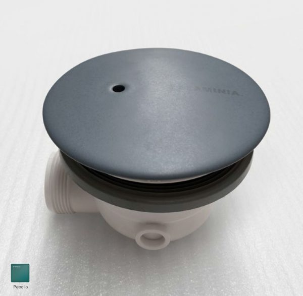 Drainage system with Ceramic cover Petrolio