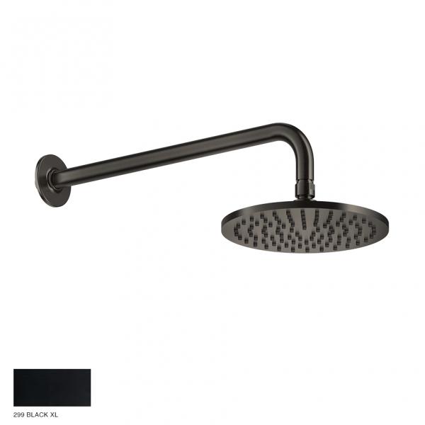 Inciso Wall-mounted Showerhead 299 Black XL