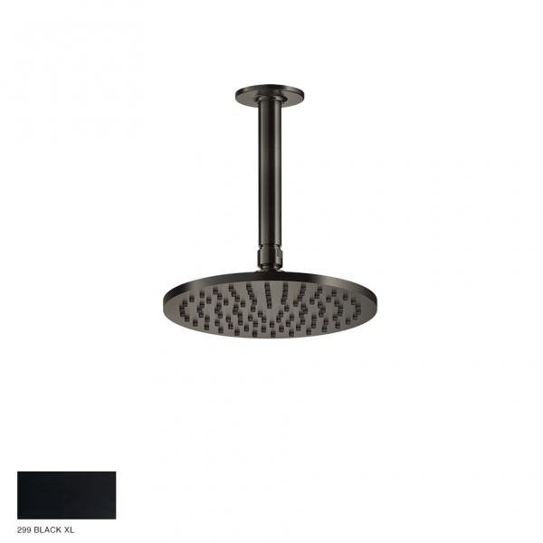 Inciso Ceiling-mounted Showerhead 299 Black XL