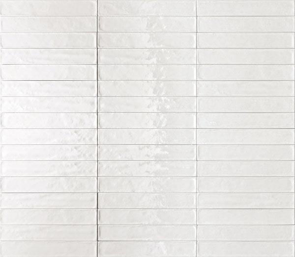Solid Bianco Glossy 6mm 6.1 x 37