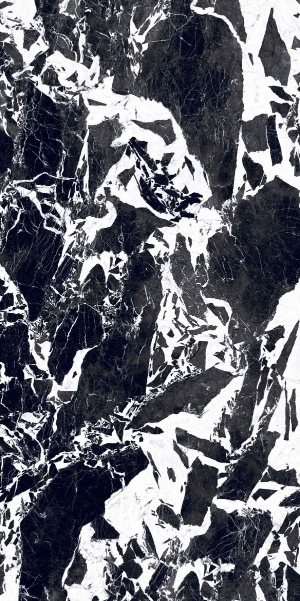 BW Marble Fragment Glossy 6mm 120 x 240