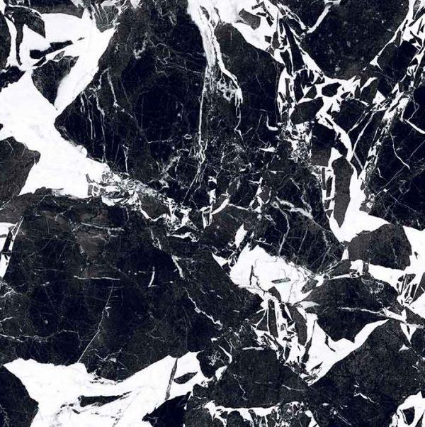 BW Marble Fragment Matte 10mm 80 x 80
