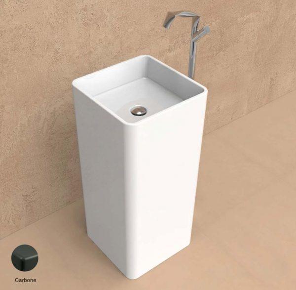 Monowash Standing column-basin 40 cm Carbone