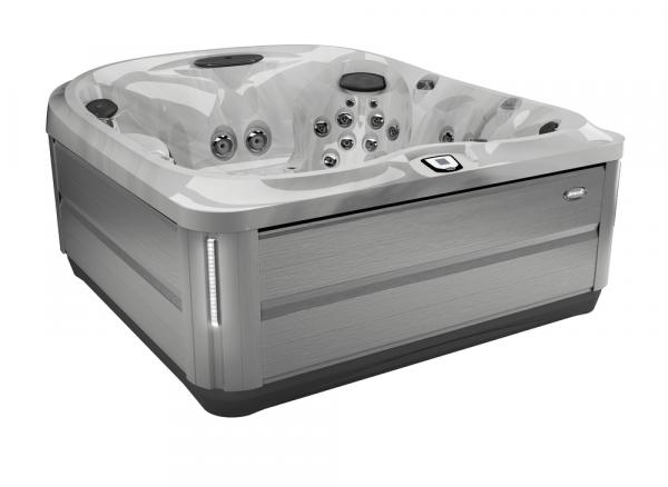 J-485 Hot Tub Brushed Gray / Platinum 231 x 231 x 95h