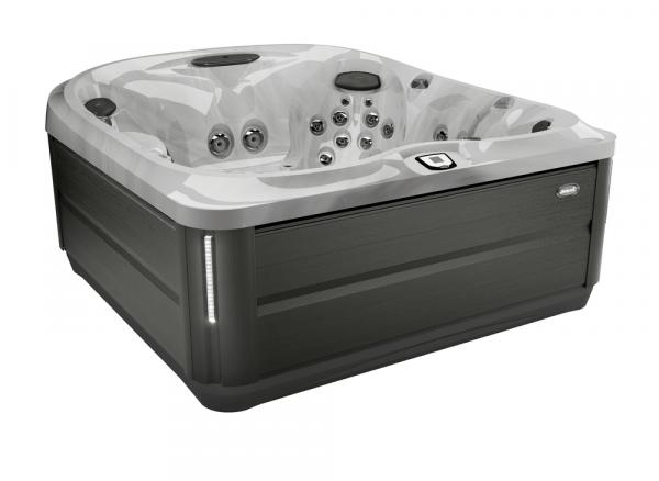 J-485 Hot Tub Smoked Ebony / Platinum 231 x 231 x 95h