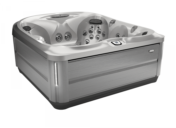 J-485 Hot Tub Brushed Gray / Silver Pearl 231 x 231 x 95h