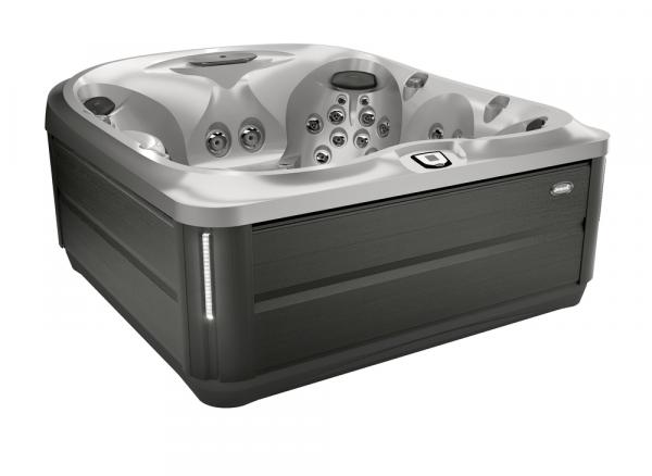 J-485 Hot Tub Smoked Ebony / Silver Pearl 231 x 231 x 95h