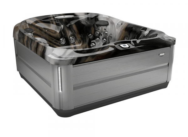 J-485 Hot Tub Brushed Gray / Midnight 231 x 231 x 95h