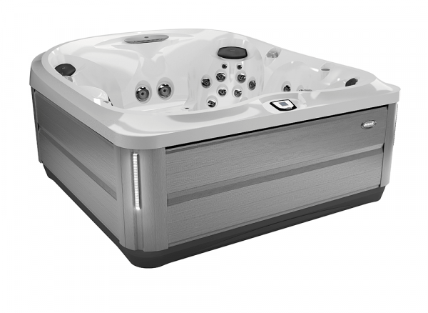 J-485 Hot Tub Brushed Gray / Porcelain 231 x 231 x 95h