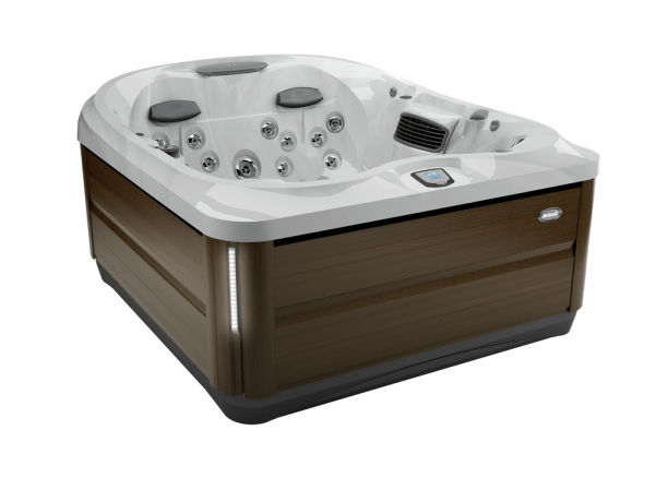 J-425 Hot Tub Modern Hardwood / Platinum 193 x 221 x 86h