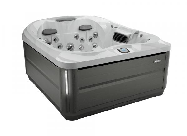J-425 Hot Tub Smoked Ebony / Platinum 193 x 221 x 86h
