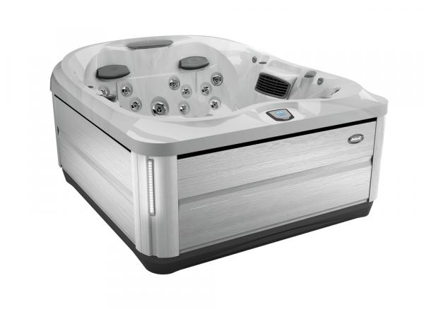 J-425 Hot Tub Brushed Gray / Platinum 193 x 221 x 86h