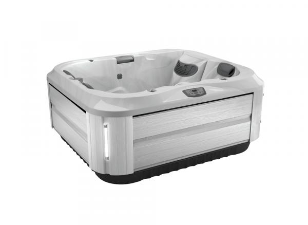 J-315 Hot Tub Brushed Gray / Platinum 193 x 168 x 81h
