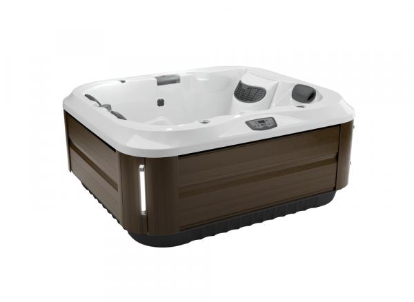J-315 Hot Tub Modern Hardwood / Silver Pearl 193 x 168 x 81h