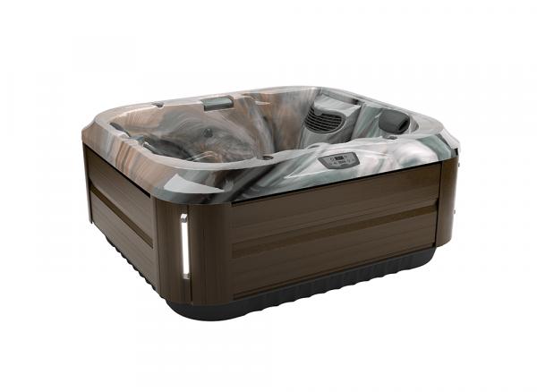 J-315 Hot Tub Modern Hardwood / Monaco 193 x 168 x 81h