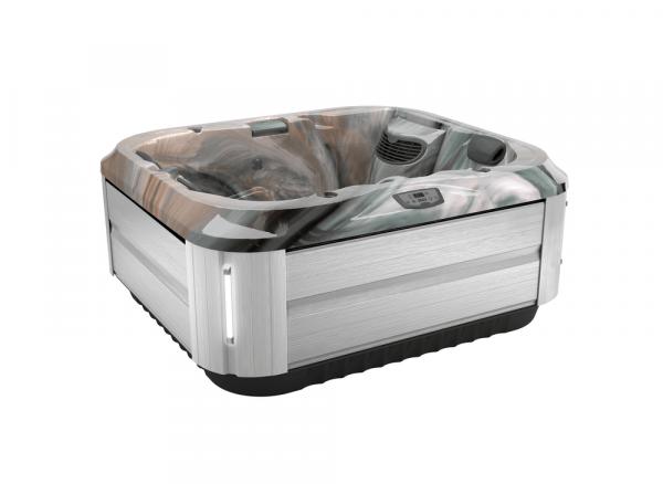 J-315 Hot Tub Brushed Gray / Monaco 193 x 168 x 81h