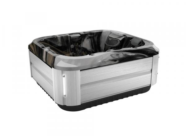 J-315 Hot Tub Brushed Gray / Midnight 193 x 168 x 81h