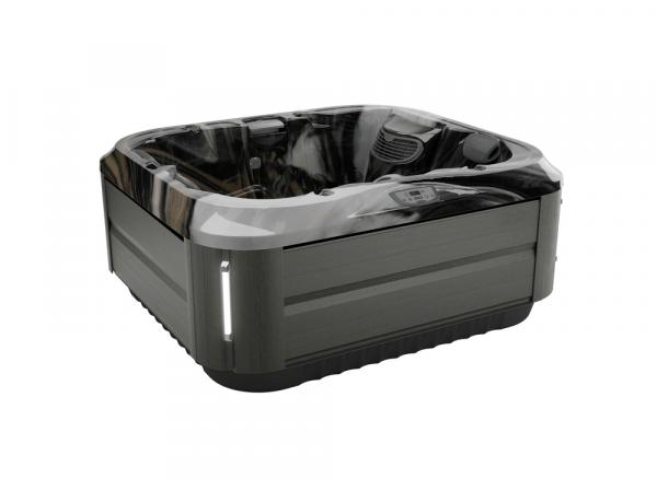 J-315 Hot Tub Smoked Ebony / Midnight 193 x 168 x 81h