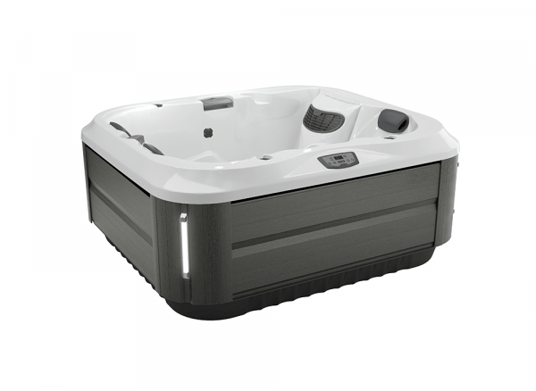 J-315 Hot Tub Smoked Ebony / Porcelain 193 x 168 x 81h