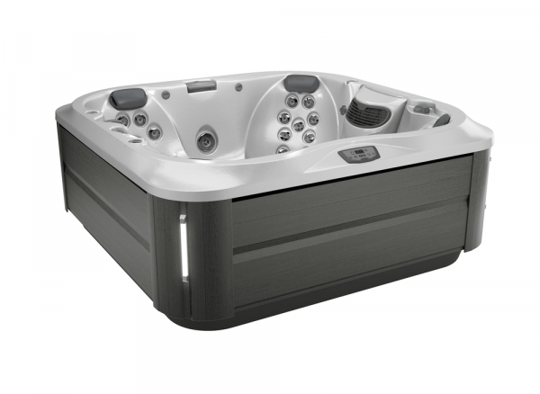 J-335 Hot Tub Smoked Ebony / Silver Pearl 214 x 214 x 92h