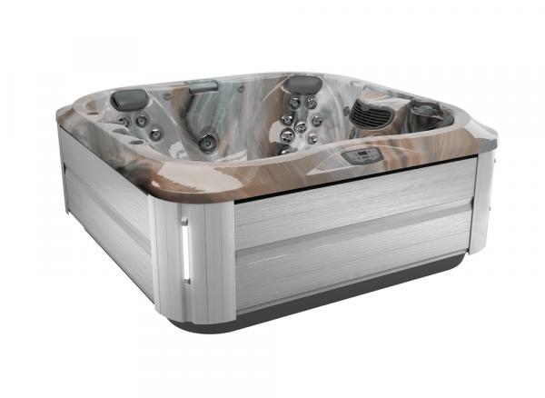J-335 Hot Tub Brushed Gray / Monaco 214 x 214 x 92h